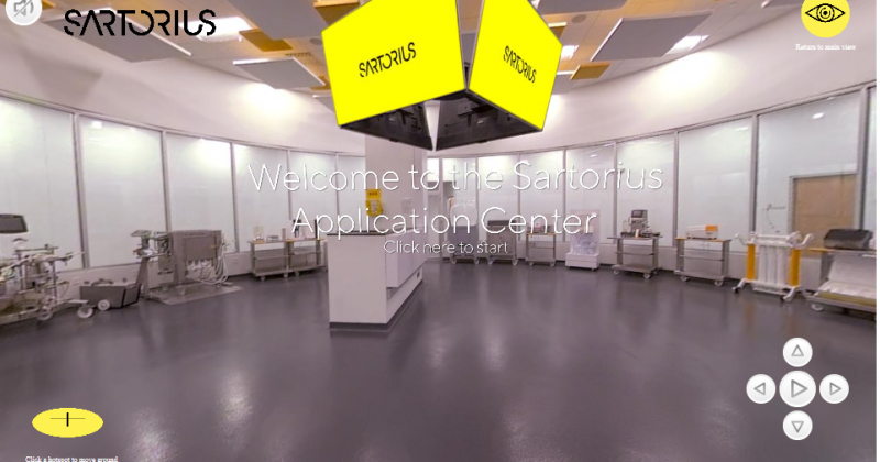 Sartorius Virtual Application Center Tour!
